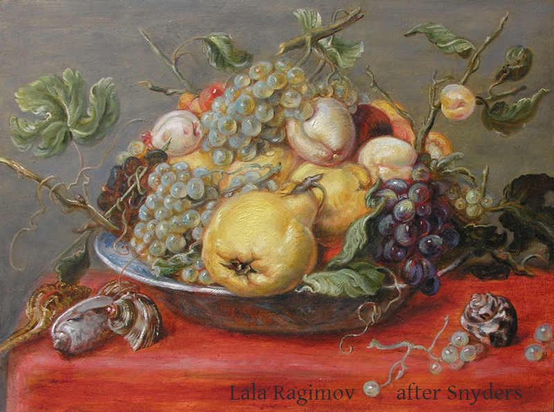 free copy of Frans Snyders by Lala Ragimov