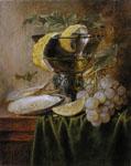 Jan Davidsz. de Heem copy by Lala Ragimov oil on panel