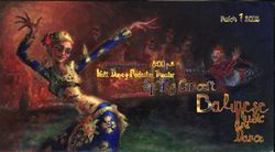 Balinese Dance poster by Lala Ragimov